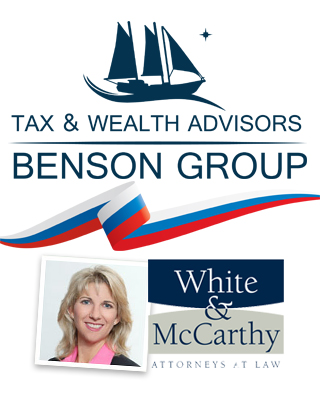 Benson Group Tax & Wealth Advisors, White & McCarthy Attorneys at Law