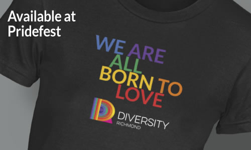 We are all born to love tee