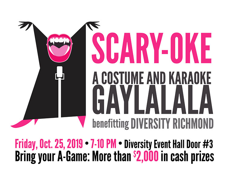 Scary-Oke - a costume and karaoke gaylalala