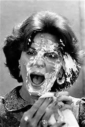 Anita Bryant pie in face