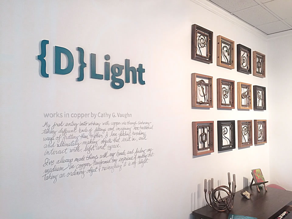 {D}Light: works in copper by Cathy G. Vaughn