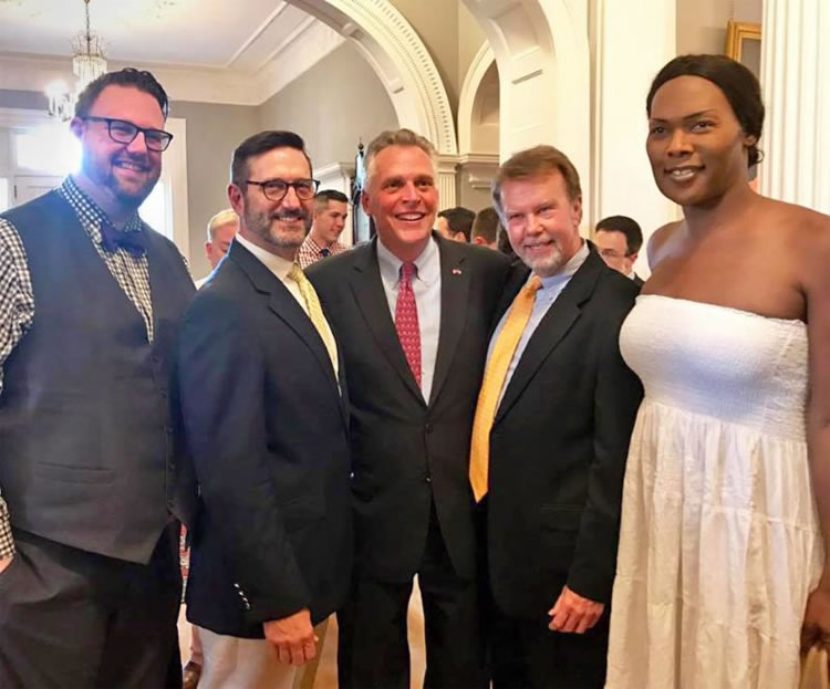 Governor McAuliffe recognizes Pride
