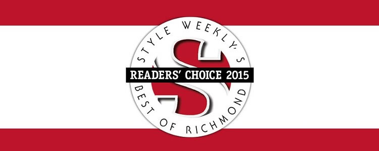 Style Weekly's Readers' Choice 2015