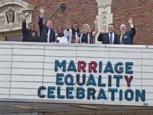 Marriage Equality Celebration, Byrd Theatre, June 26, 2015