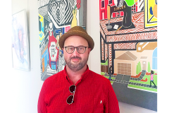 Chris Norris, curator of Four-Color Universe